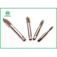 Quality DIN 371  right Hand Metric Spiral Point Taps , High Speed Steel Taps Square / Round Shape for sale