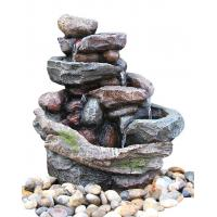 Buy cheap Creek Cascading Water Fountains Outdoor , Large Garden Water Fountains In from wholesalers