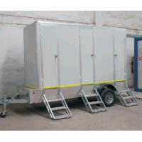 Quality mobile movable trailer toilet carvan/ Portable toilet with trailer carvans toilet for sale