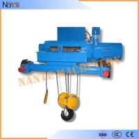 China Double Girder Electric Wire Rope Hoist Winch Trolley for Chemical Industry on sale