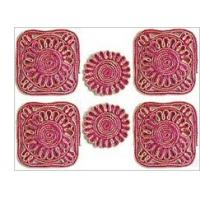Quality hotel silver decorative metal table mat for sale