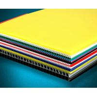 Quality Recyclable Coloured Corrugated Plastic Sheets Board for printing for sale
