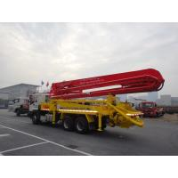Buy cheap 6x4 Mobile 37m Concrete Pump Truck with Germany Rexroth Hydraulic System from wholesalers