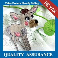 China hot fix patches embroidery animal new arrival,embroidery animal patches best quality for accessory jx0608 on sale