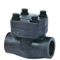 China Forged steel check valve, high pressure sw end lifting check valve 800lb - 1500lb on sale