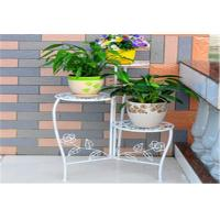 Quality Beautiful Decorative Outdoor Furniture Metal Flower Rack / Flower Hanger Stand for sale