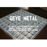Quality Heavy Duty Welded Pressure Locked Steel Bar Gratings Serrated for Drains Trench Cover for sale