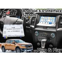 Quality Android 6.0 Auto Interface Gps Navigation for Ford Ranger / Everest SYNC 3 System LVDS Digital Display Bluetooth OBD for sale