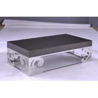 Quality Simple Style Long Modern Square Coffee Tables and End Tables with MDF Frame for sale