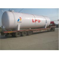 Quality 100CBM LPG Storage Tanks 50 Tons LPG Cooking Gas Tank ISO / ASME Approved for sale