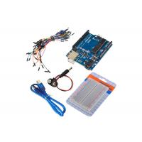 China Battery Snap Breadboard Arduino Uno R3 Starter Kit For Electronic Learning Project on sale
