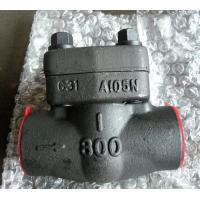 China SW NPT RF RTJ Integral Check Valve API 602 With Low Fugitive Emissions Control on sale