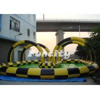 Buy Clear PVC / TPU Inflatable Zorb Ball with 3m outer diameter / 2m inner diameter with Ramp at wholesale prices