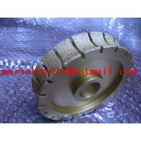 China diamond profile wheels for stone on sale