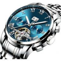 Quality hot selling  mechanical watches men luxury waterproof automatic watch movement for sale