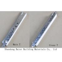 Buy cheap Galvanized Ceiling Tee Bar product