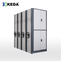 Quality Knock Down 0.320 CBM 560mm depth Metal Book Cabinet for sale