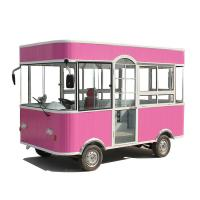 China Commercial Mobile Food Cart Mobile Food Trailer 3 Wheels / 4 Wheels CE on sale