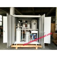 Quality Carbinet High Vacuum Oil Purifier ,Oil Filtration Machine for Refrigerant Oil, Compressor Oil,Gear Oil for sale