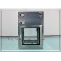 China Low Noise Clean Room Equipment / Pass Box Air Shower 380v / 50hz 750w on sale