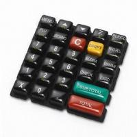 Quality Rubber Keypads with Epoxy Coating for sale