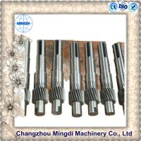 Quality Spline Shaft Coupling Spare Part Gear And Shaft Assembly 4000mm Length for sale