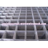 Quality Custom Stainless Steel Welded Wire Mesh Sheet / Roll Wear And Abrasion Resistance for sale