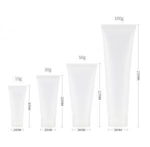 Quality Transparent 2oz Squeeze Travel Bottles With Flip Cap for sale