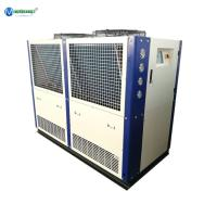 Quality Best Price & Service Dairy Glycol Chilling Air Cooling Heat Exchanger Plate 20 HP Glycol Water Chiller For Milk Cooling for sale