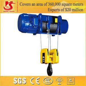 China Low headroom compact single speed electric hoist 2 ton on sale