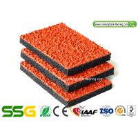 Quality Air - Permeable Synthetic Plastic Rubber Athletic Track For Pathway Non - pollution for sale