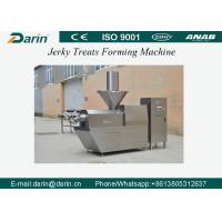 Quality Automatic Pet Snack Jerky Treat Forming Machine / Pet Food Processing Line with CE Certification for sale