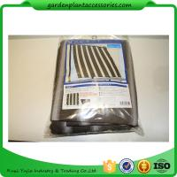 Multifunctional Garden Shade Netting / Plant Shade Cover For Plant Protect 1.8 * 2.1m Brown stripes