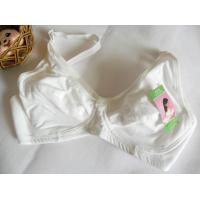Buy cheap OEM White Cotton Supptorive Breathable Underwire Nursing Bra 38B 40DD product