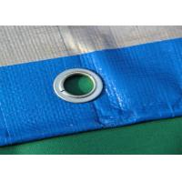 Quality Blue Geosynthetic Fabric PE Tarpaulins 200GSM For Truck Cover for sale