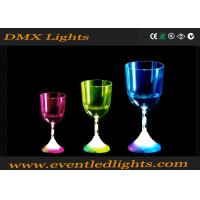 Quality 100% Waterproof Liquid / Champagne Led Plastic Cups For Wedding for sale