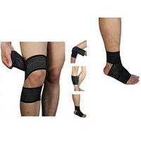 Quality High elasticity Calf Thigh Support Knee Compression Wrap Bandage. Elastic material.Customized size. for sale