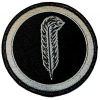 Quality customized design embroidered logo patch for sale