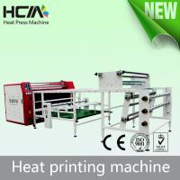 Quality Roller Heat Press Printing Equipment With Conveyor Belt Automatic Adjustment Device for sale