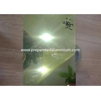 China 0.2mm Thickness Aluminum Mirror Sheet For Light Industry 30-1500 mm Width on sale