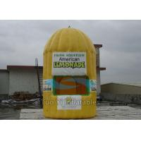 Quality Fire Retardant Inflatable Lemonade Booth , Photo Booth Advertisement Bar Tent for sale