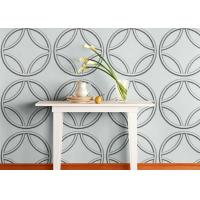 Quality Biodegradable Plant Fiber White Home Decor Wallpapers Graffitic 3D Wall Panels for Living Room for sale