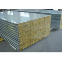Quality Fire Proof Rock Wool Galvanised Steel Roofing Sheets Environment Friendly for sale