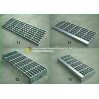 Quality 30 X 3 Steel Stair Treads Grating Material Saving Easy Lifting Good Ventilation for sale