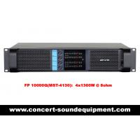 Quality Disco Sound Equipment / FP 10000Q Switch Mode 4 Channel 4x1300W Amplifier for sale