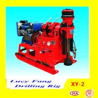 China China Hot XY-2 Portable Skid Mounted Mini-pile Grouting Hole Drilling Rig on sale