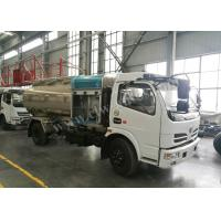 Quality Aluminium Alloy Tank Fuel Delivery Tank Truck Customized Logo Design for sale