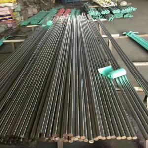 Quality ASTM GB Standard 301 303 Round Metal Bar Bright Polish Diameter 6 - 60mm for sale