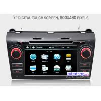 China In Dash GPS Navigation Car Stereo for Mazda 3 , Car Stereo with USB Port on sale