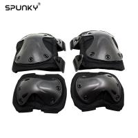 Quality Outside Airsoft Paintball Tactical Gear Knee Elbow Pads for War Game Protection for sale